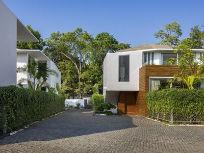 Contemporary & Aesthetic design, these Eco friendly homes are nestled within Goa