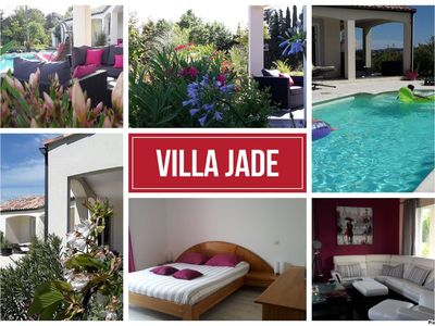 Photo for Beautiful recent villa under the sun of L'Aude