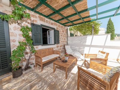 Photo for Bol - Feel the Traditional stone and wood house with heated swimming pool MARTI