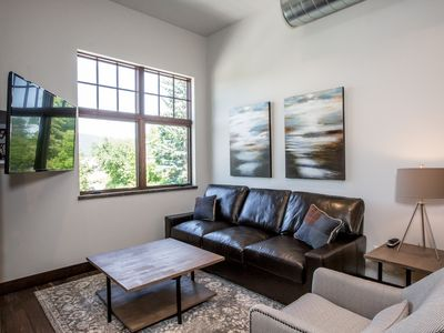 Photo for Studio Loft In Downtown Whitefish! Option For Joining Unit To Sleep 8 Total