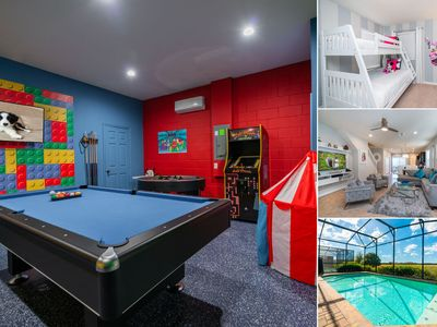 Photo for Windsor @ Westside Stunning Pool Home With Game Room & Retro Gaming Arcade