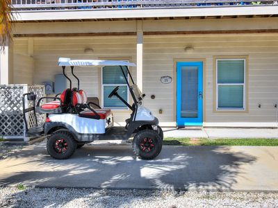 Photo for Surfin' Seahorse: Free Golf Cart, Walk to Beach, Ocean Breezes, POOL