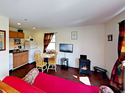 Living Area - Welcome to Boothbay! This cottage is professionally managed by TurnKey Vacation Rentals.