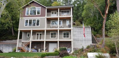 Photo for Beautiful Lakefront Home: Lake Vacation or Homebase to Explore the Northwest!