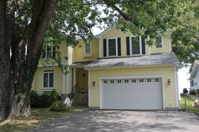 Large home with direct beach access and amazing water views of the Chesapeake!