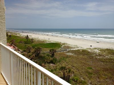 Photo for Sandcastles 609  44' Wrap-around Balcony Fantastic Direct Ocean front View