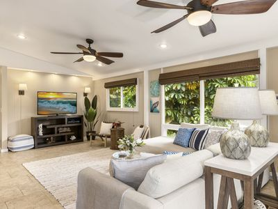 Photo for Newly Remodeled Ocean-View Home With A/C, Steps From Pipeline: Ehukai Beach Hale