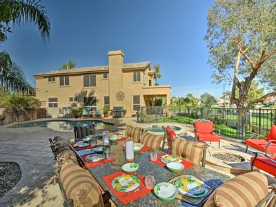 Photo for Lavish Chandler Home w/ Heated Pool & Private Spa!