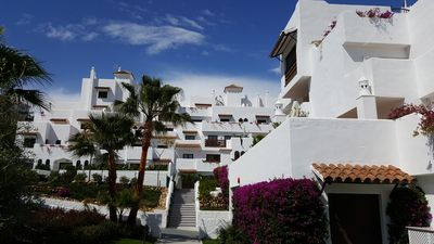 Photo for New, spacious and beautiful apartment in Golf Hills, Estepona (near Marbella)