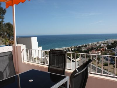 Photo for Two bedroom apartment with sea views in Mojacar Playa