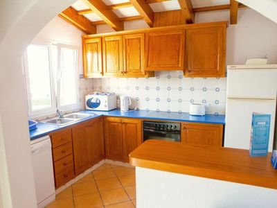 Photo for 3 bedroom Villa, sleeps 6 in Alaior with Pool and WiFi