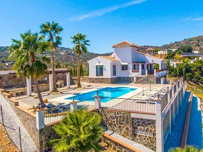 Photo for Villa Araceli: Large Private Pool, Sea Views, A/C, WiFi