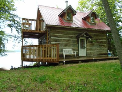Photo for Log Cottage on Golden Lake
