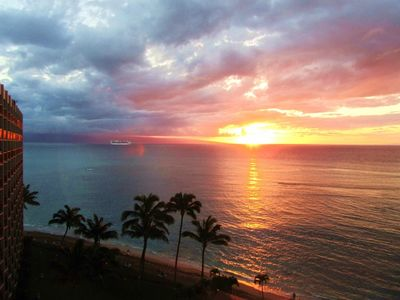 Photo for Escape To Maui! Beautiful 1 Bedroom With Amazing Ocean Views