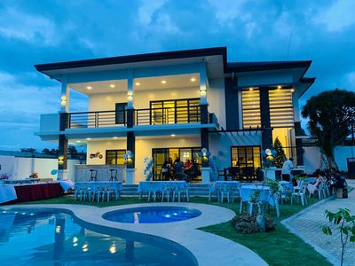"Photo for Beautiful NEWLY BUILT ""Casa Grande"" Luxury Villa in San Pedro Village, Buhangin"
