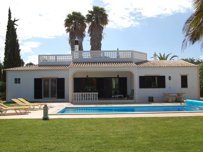 Photo for Top Villa At Short Distance Away From Famous Meia Praia Beaches.