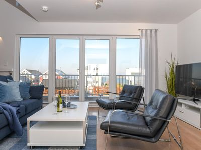 Photo for Exclusive duplex holiday property in the first row to the water - all-day sun - panoramic water view - two terraces - woodburning stove, sauna and whirlpool tub