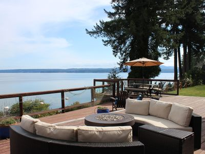 Photo for Relaxing Private Getaway w/ Big Ocean/Water views, Hood Canal, Olympic Mts