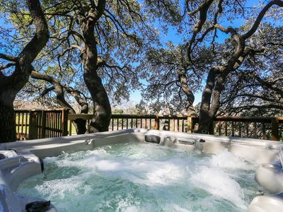 Photo for Absolutely Charming Barons Creek Ranch Headquarters, 4/2, Private Hot Tub, Sleeps up to 9!