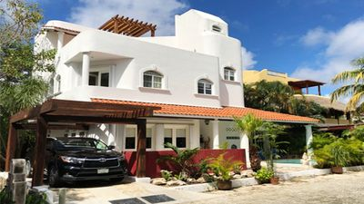 Photo for Beautiful And Spacious 4 Bedroom Villa, 200 Meters From The Beach