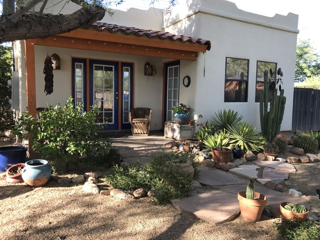 Relaxing midtown tucson casita with lush fully fenced - 4 bedroom houses for rent in tucson az ...