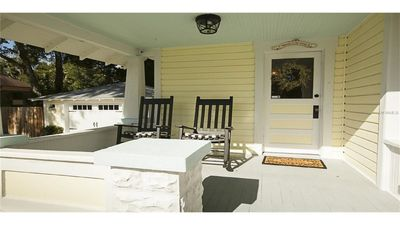 Great front porch for sipping your morning coffee or evening wine.