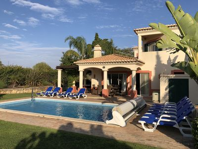 Photo for Magnificent 5 bed villa with large heated pool and on Gramacho Golf  Course