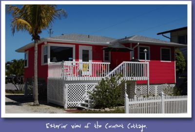 Photo for The Coconut Cottage at the Cottages of Paradise Point - Gulfside 2bd/2ba North End