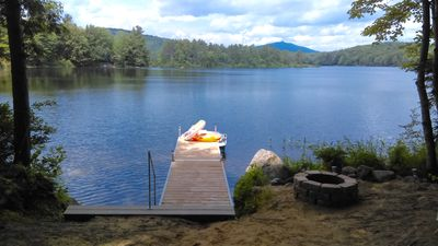 Photo for Family/pet friendly non-smoking chalet with private dock and 50' of frontage