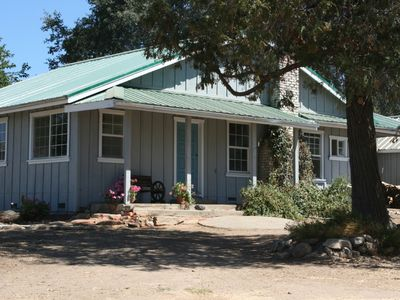 Photo for Ranch House near Yosemite National Park 120 acres Private Pond Pet Friendly