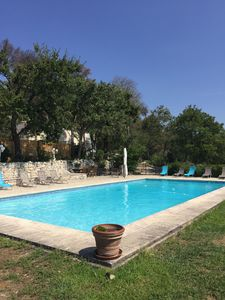 Photo for Beautiful villa 6 bedrooms in a quiet pool near Aix en Provence exceptional site