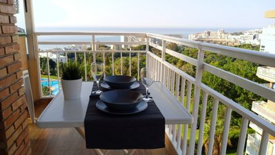 Photo for Benalmadena, perfect families (5 adults), WIFI, good weather, tranquility, leisure