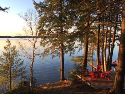 Now booking for spring2021-BEST of Cottage life! Panoramic sunsets,5decks+2docks