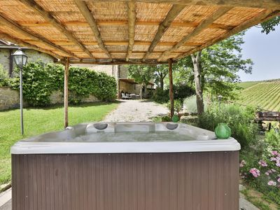 Photo for Villa with jacuzzi close to Florence