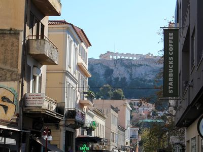 Photo for Exclusive holiday loft, Wifi, Athens city, view of Akropolis, Greece