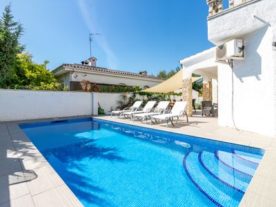 Photo for Empuriabrava   house ground floor with pool