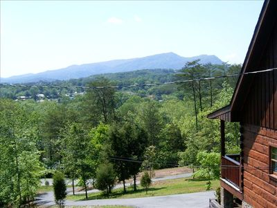Front mountain view