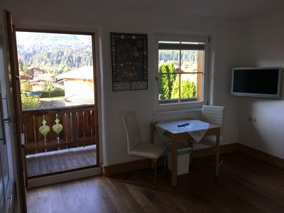 Photo for Austria-Ellmau-Ferienappartement, absolutely quiet, sunny side with panoramic views!