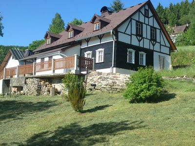 Photo for Peacefully located house with views of the valley