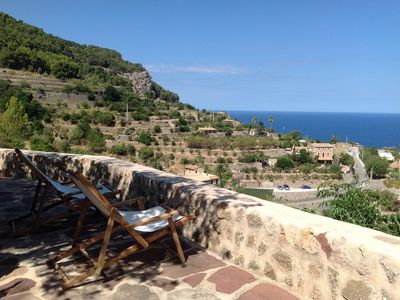 Photo for Cottage with charm,garden terrace and spectacular views