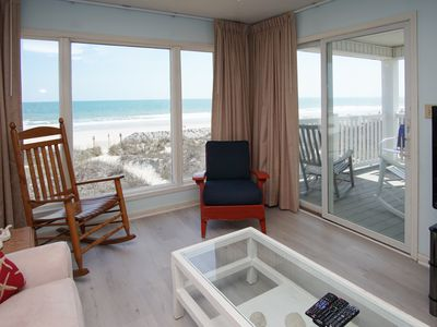 Photo for SEASIDE VILLAS, an intimate 3-story oceanfront condo retreat