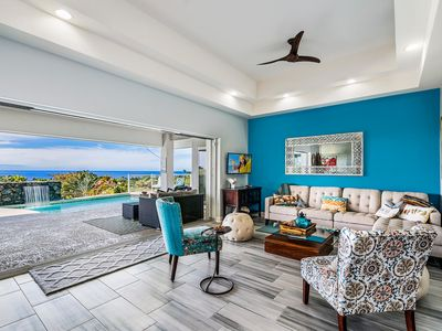 Photo for Impressive Ocean Views | Kona Sunsets | Pool | Gated | From $549/nt