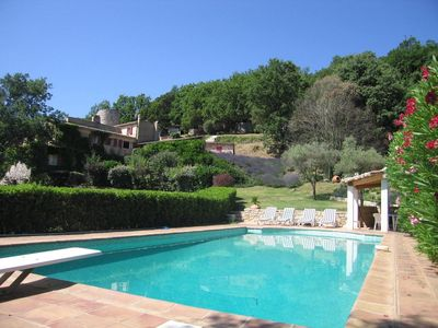 Photo for La Garde Freinet. Luxury family villa with private pool. Sleeps 12