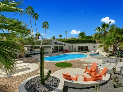 Photo for Architectural Pool Home - Centrally Located Between Coachella Valley Attractions