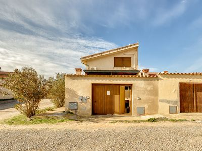 Photo for Tranquil Holiday Home Casa Cristallo On the Beach with Terrace, Air Conditioning & Wi-Fi