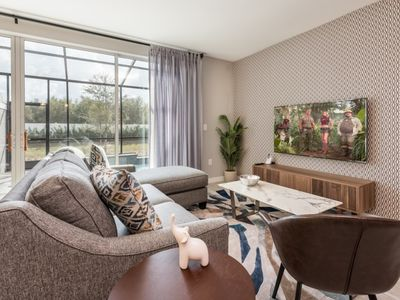 Photo for Modern Bargains - Le Reve - Beautiful Contemporary 4 Beds 3.5 Baths Townhome - 6 Miles To Disney