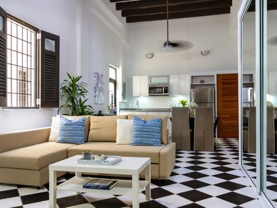 Photo for Mezzanine Suite   Loft style 1 Bedroom in best location in Old San Juan with Plaza View