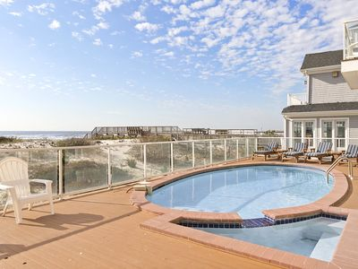 Photo for 6BR Luxury Oceanfront House Pool+Jacuzzi Facing Ocean CALL FOR MAY SPECIAL