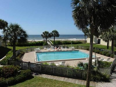 Photo for Beach Front 2 Bedroom w/a Pool (sleeps 6) WEEKLY ONLY HIGH SEASON SATURDAY-SAT