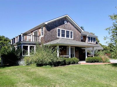Photo for Farmhouse Nestled by Meadow, Pool, Near Beaches and Centrally Located!